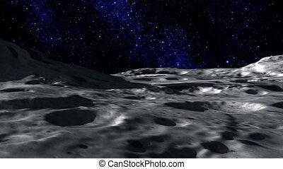 powierzchnia, księżyc