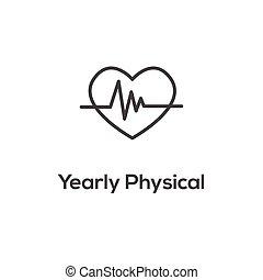 powinowaty, ikona, medyczna troska, zdrowie, symbolizm, ...