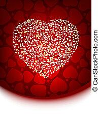 powitanie, valentine, card., eps, 8
