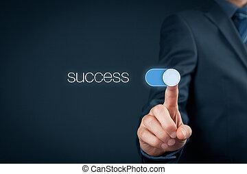 powodzenie, handlowy