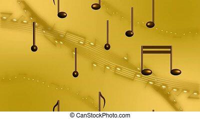 powstanie, notatki, muzyka