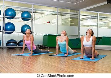 poza, kobra, yoga, stosowność klasa