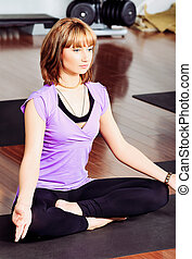 poza, yoga