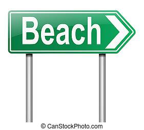 poznaczcie., plaża