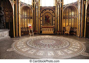 Poznan, Poland - religious architecture. Greater Poland province (Wielkopolska). Roman Catholic Cathedral interior.