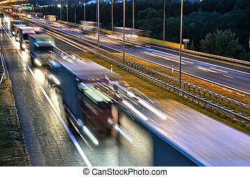 poznan, pologne, autoroute, controlled-access