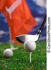 pozw, gra, golf!, okrągły