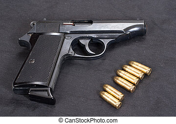 pp, pistolet, walter