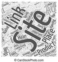 ppc, 概念, 単語, マーケティング, jp, インターネット, 雲