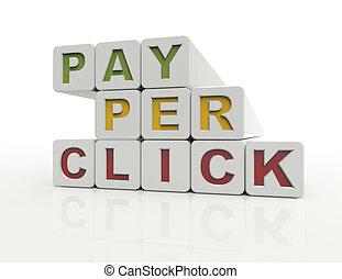 ppc, pagar, clique, por