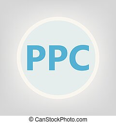 PPC (Pay Per Click)- vector illustration