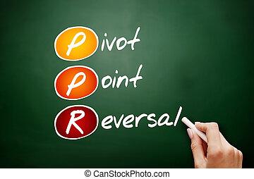 ppr, punto, pivote, siglas, revocación, -
