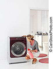 prádelna, nm