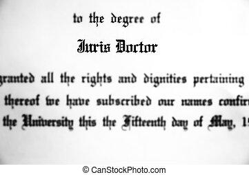 prática, grau, juris, doutor, advogado, doutorado, lei