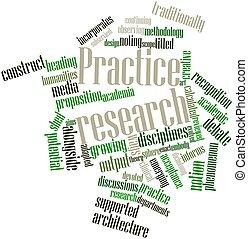prática, pesquisa