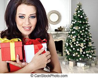 prázdniny, vánoce, den, znejmilejší
