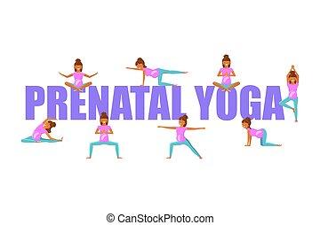 pré-natal, grávida, ioga, mulheres