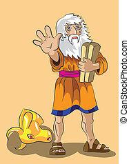 précepte, pierres, moïse