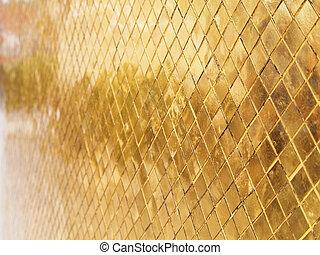 précieux, or, texture