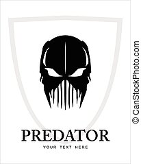 prédateur, warrior., fantôme