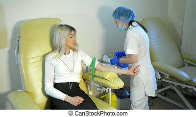 préparation, essai, sanguine