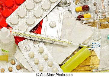 préparation, monde médical