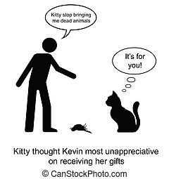 présent, chaton