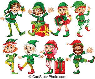 présente, elfe