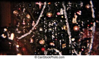 présente, sous, tree-1958, noël