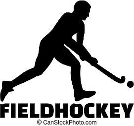 présentez joueur hockey
