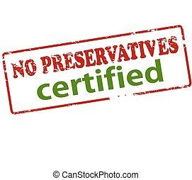 préservatifs, certifié, non