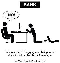 préstamo, banco