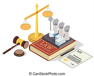 prévention, plat, vecteur, droit & loi, isométrique,...