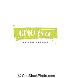 prêmio, alimento, cobrança, orgânica, mercado, drink., ícones, qualidade, elementos, ecommerce, promoção, vida, produto, produtos, saudável, natural, livre, gmo