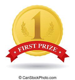 prêmio, primeiro