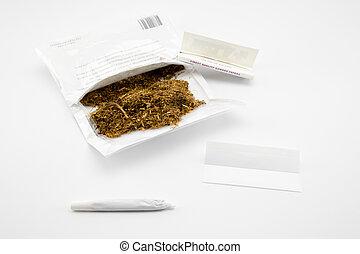 prêt, cigarette, faire
