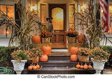 prêt, halloween