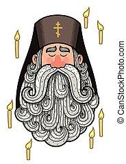 prêtre, orthodoxe