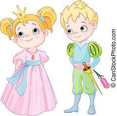 príncipe, princesa