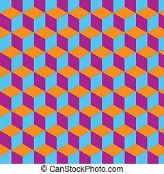 próbka, abstrakcyjny, geometryczny