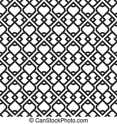 próbka, biały, czarnoskóry, seamless, islamski