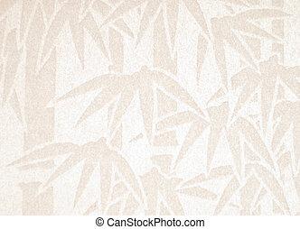 próbka, biały, papier, handmade, bambus