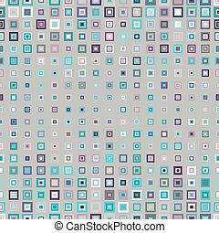 próbka, geometryczny, kwadraty, seamless