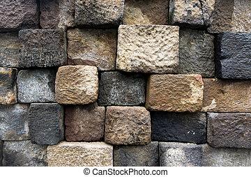 próbka, kamień budowa, tło