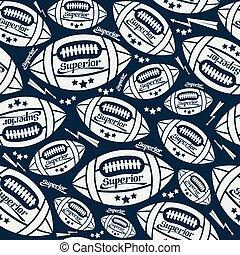 próbka, piłka, rugby, seamless
