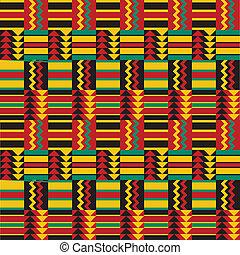 próbka, seamless, afrykanin