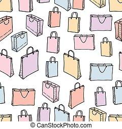 próbka, shopping torby, różny