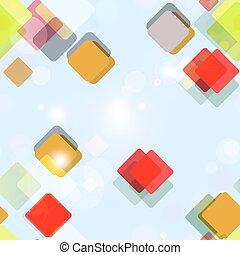 próbka, squares., seamless