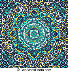 próbka, style., seamless, mozaika, etniczny