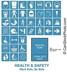 próprio, Fazer, saúde, sinais, segurança, seu